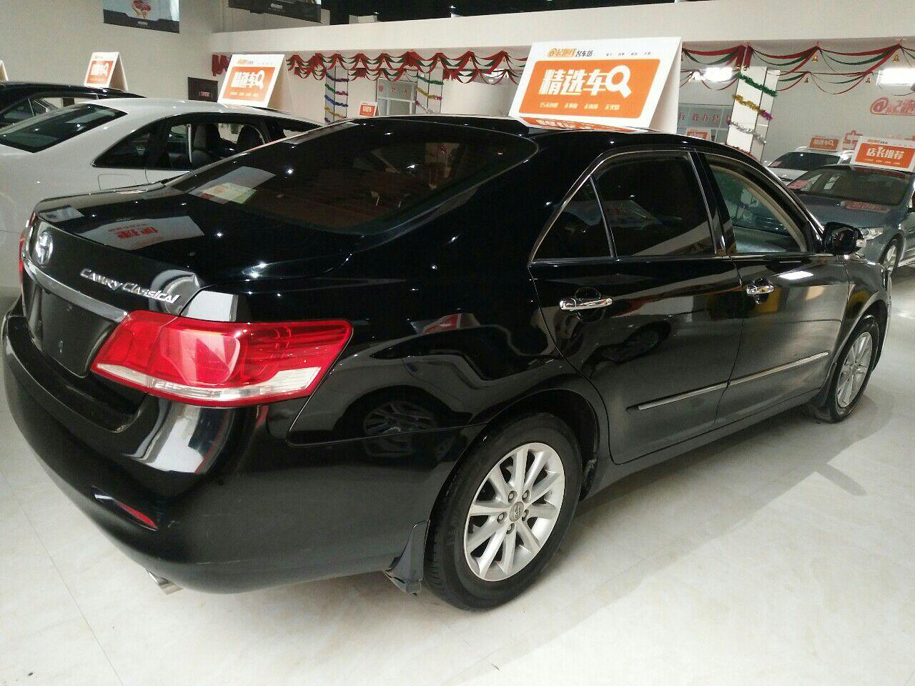 丰田凯美瑞黑色小轿车经典精英版