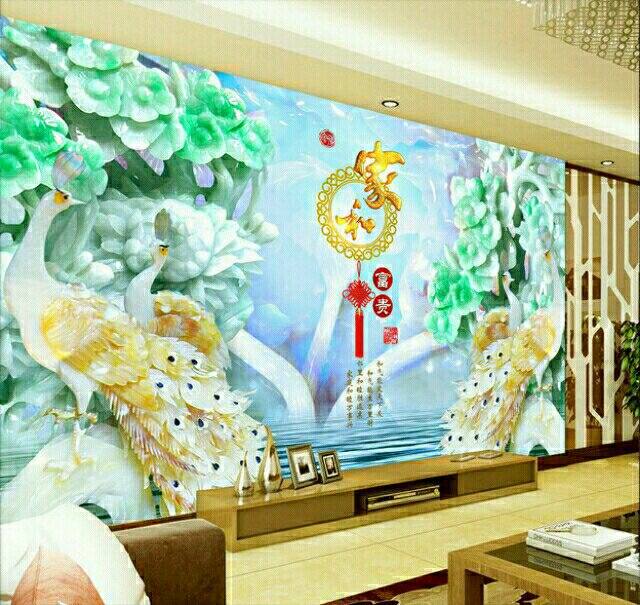 3d个性定制影视墙 玄关 壁画 杞县诚招各区加盟商