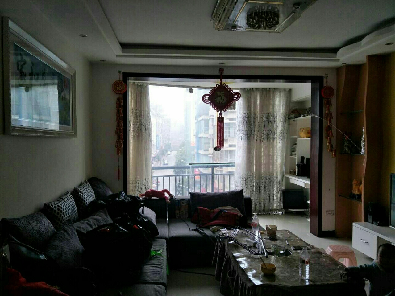 龙腾锦城3室2厅2卫62万元看房方便3楼
