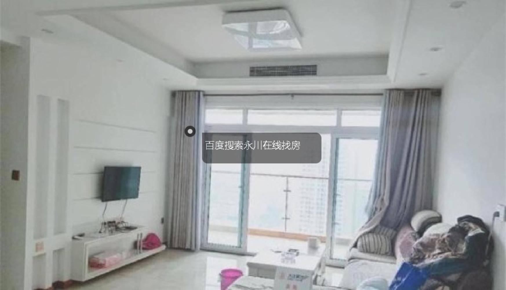 兴龙湖正规三室豪华装修品牌家具家电拎包入住