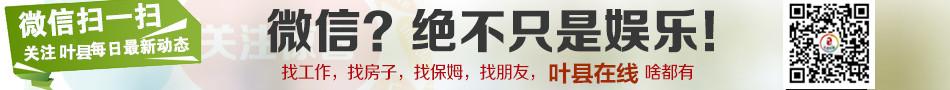 关注叶县在线 免费快速发布房产、人才分类信息