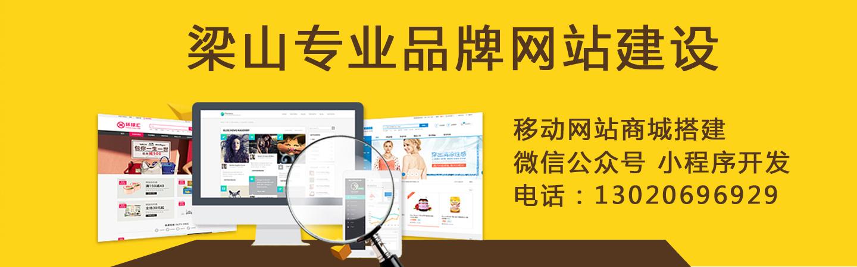 梁山专业网站建设 公众号小程序开发 电话:13020696929