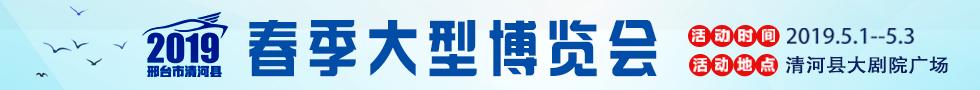 清河县2019春季大型博览会
