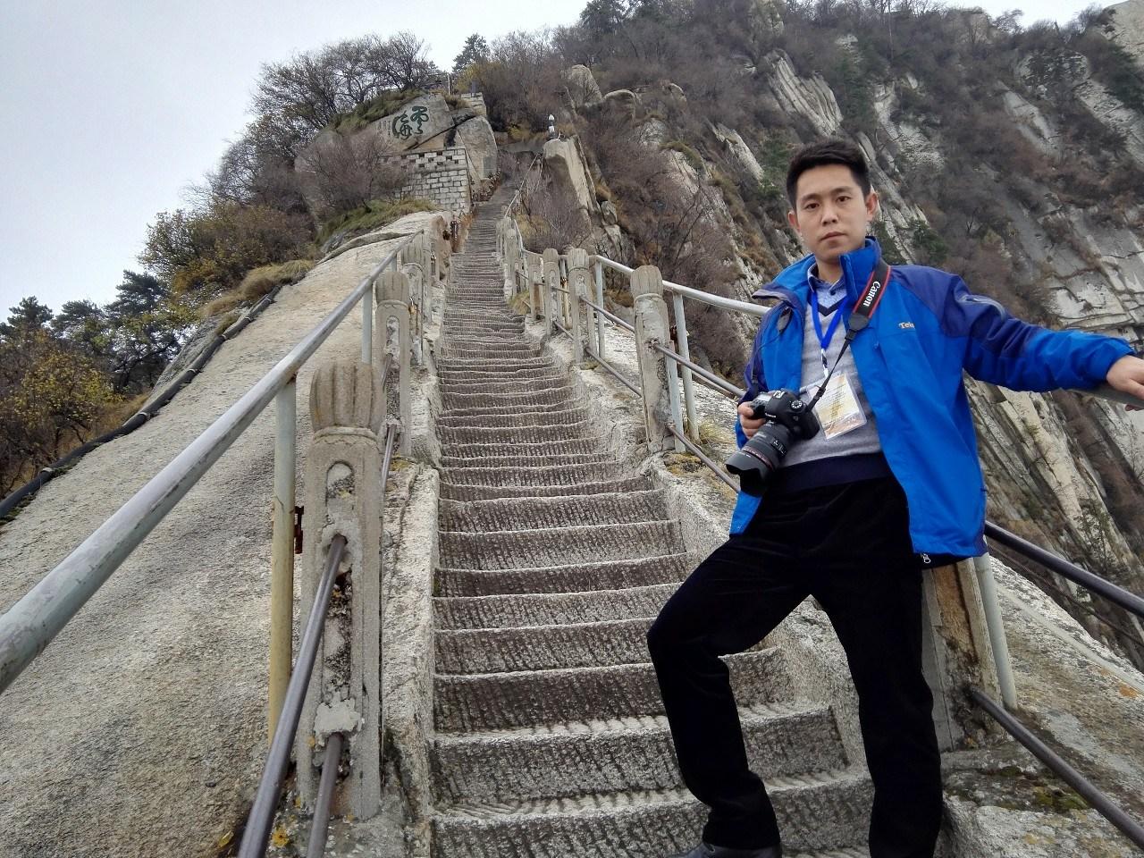 天竺山索道  黄磊