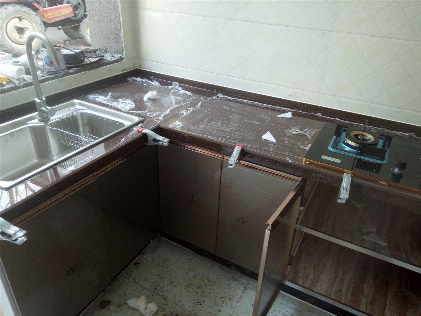 襄县瓷砖整体橱柜