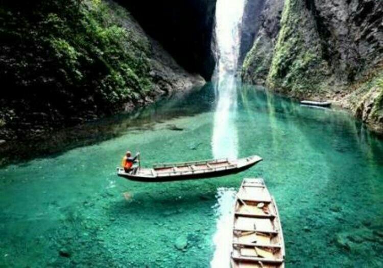鹤峰原生态旅游―屏山大峡谷,董家河,芭蕉河
