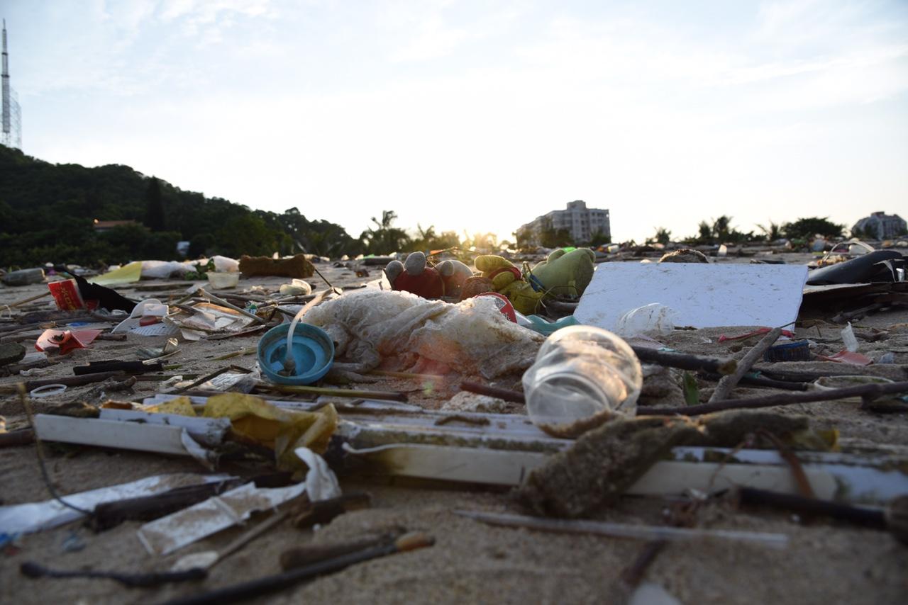 大海不会生产垃圾的……