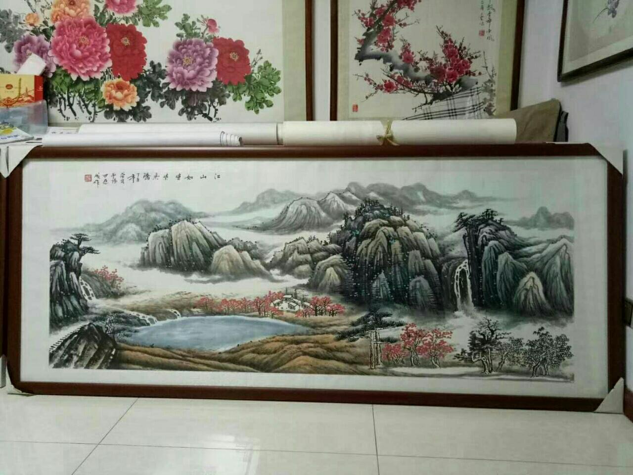 陕西山阳从水墨丹青中走出来的著名书画家