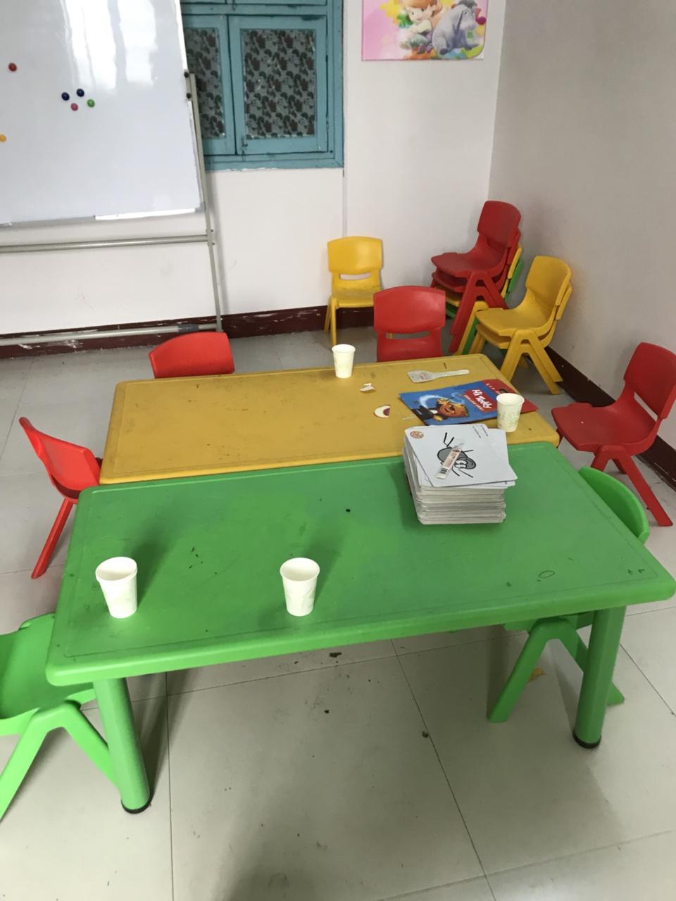 幼儿园课桌椅,收纳柜