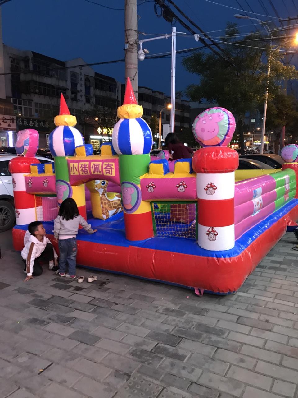 4米乘5米的儿童蹦蹦床现用不到了现出售、短信不回非诚勿扰。