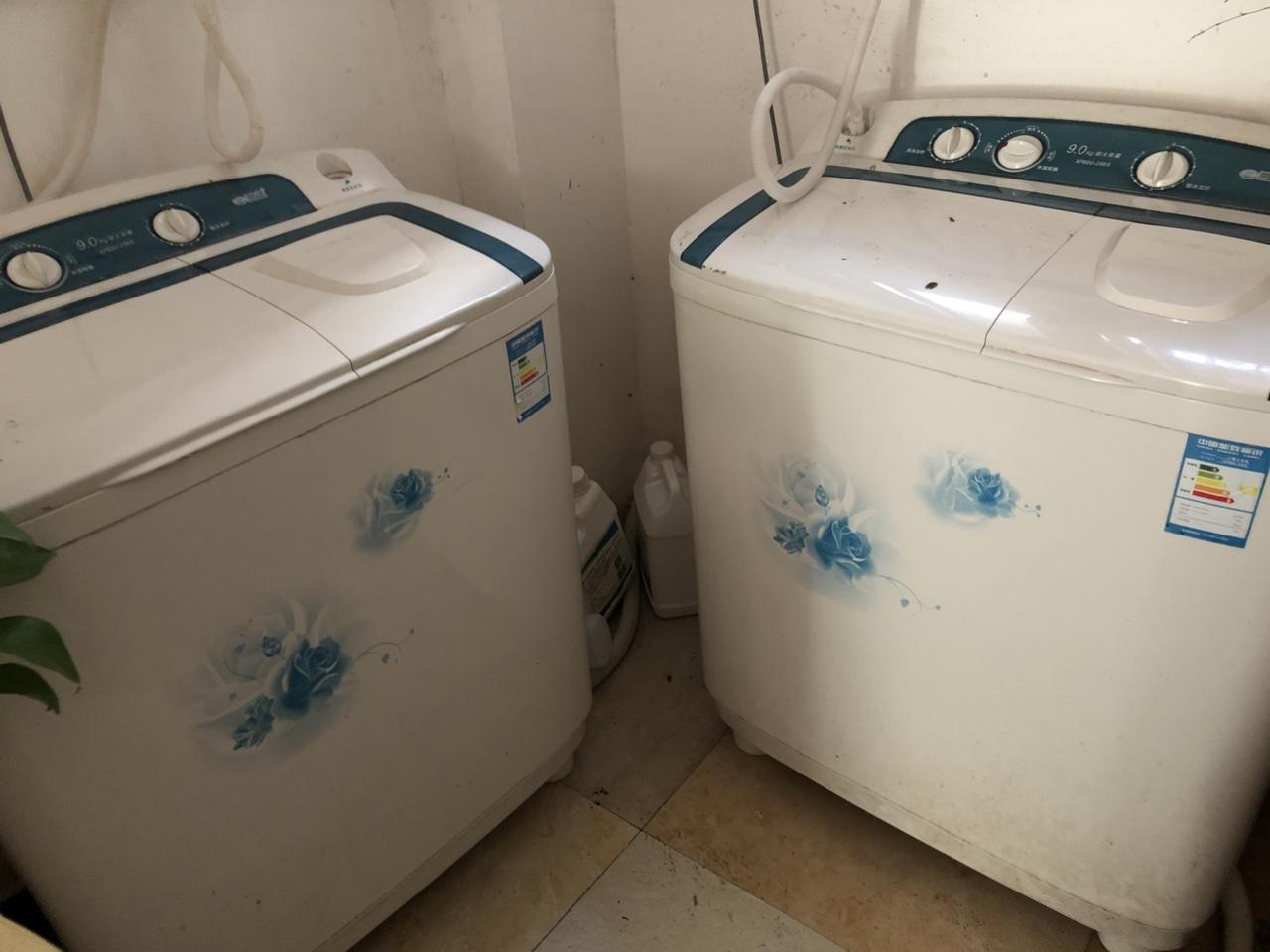 店鋪不做了,半自動洗衣機,吧臺便宜處理了