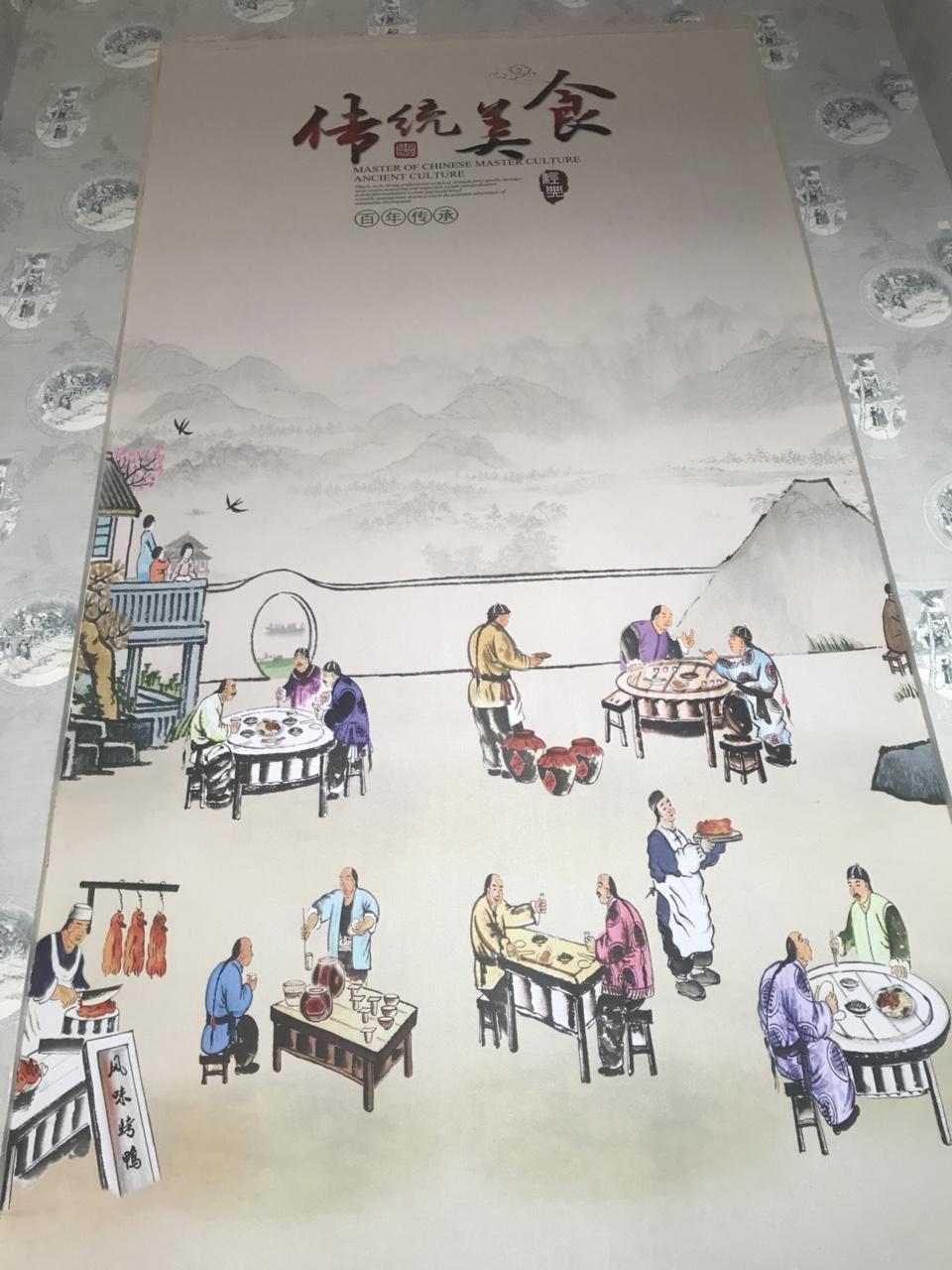 在龙山镇品尝了古镇老码头火锅才叫不白来一回