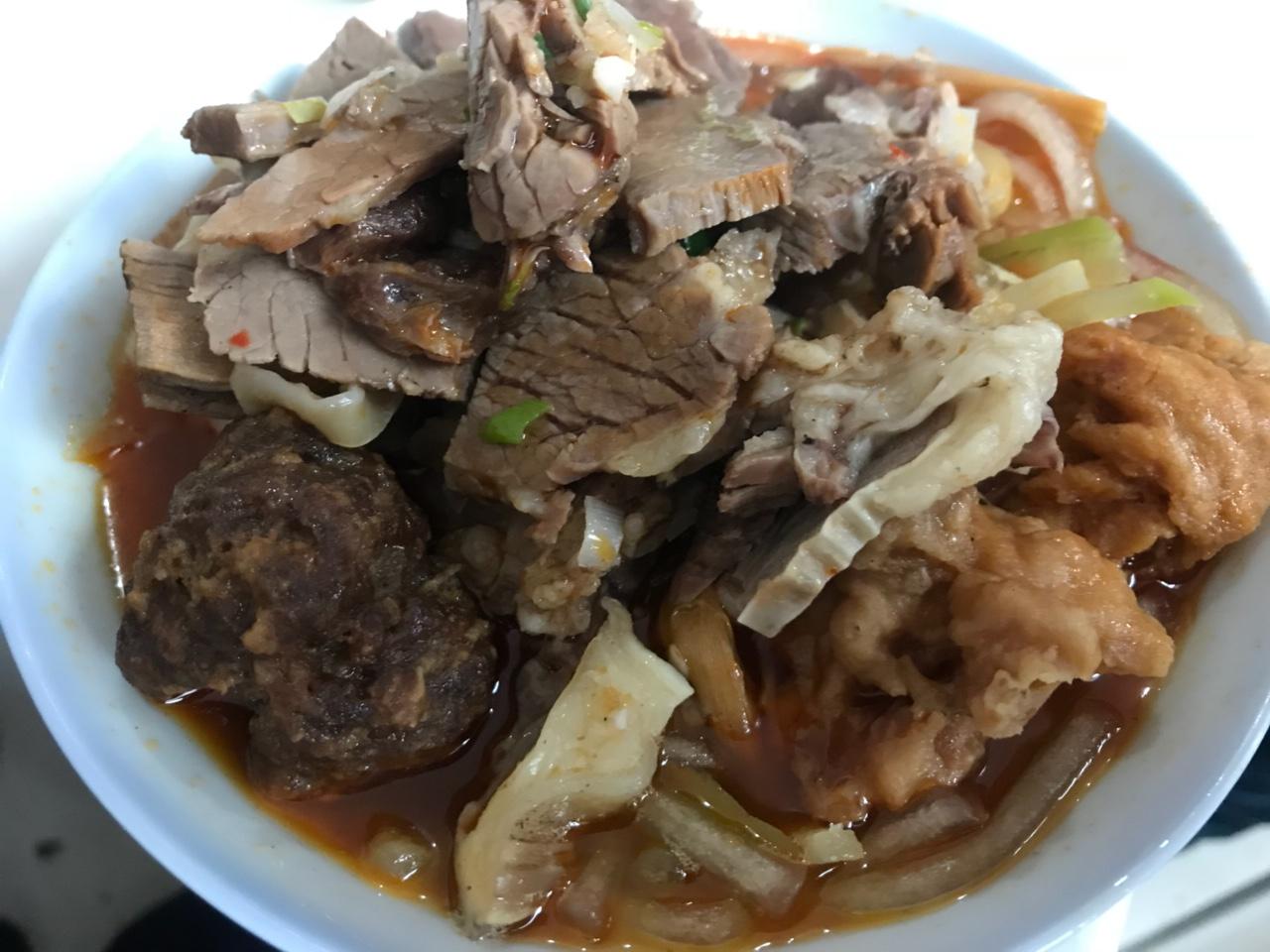 【舌尖上的张家川】果碟牛肉+萝卜烩菜=民间豪华套餐