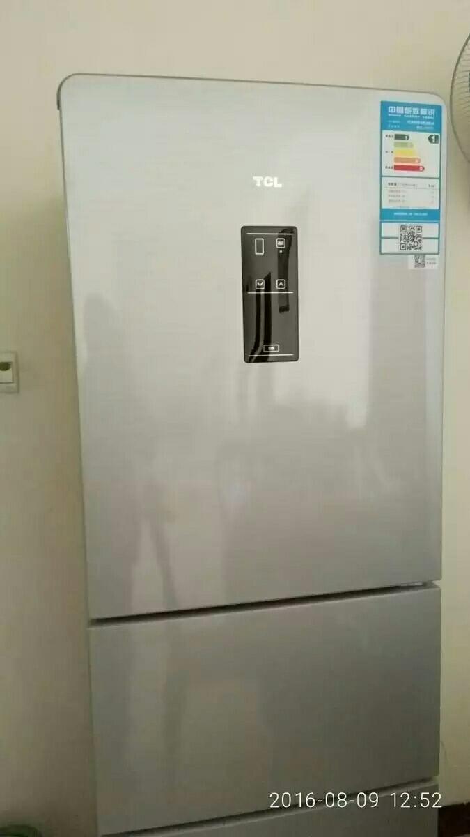 95新电子控温三开门冰箱转卖