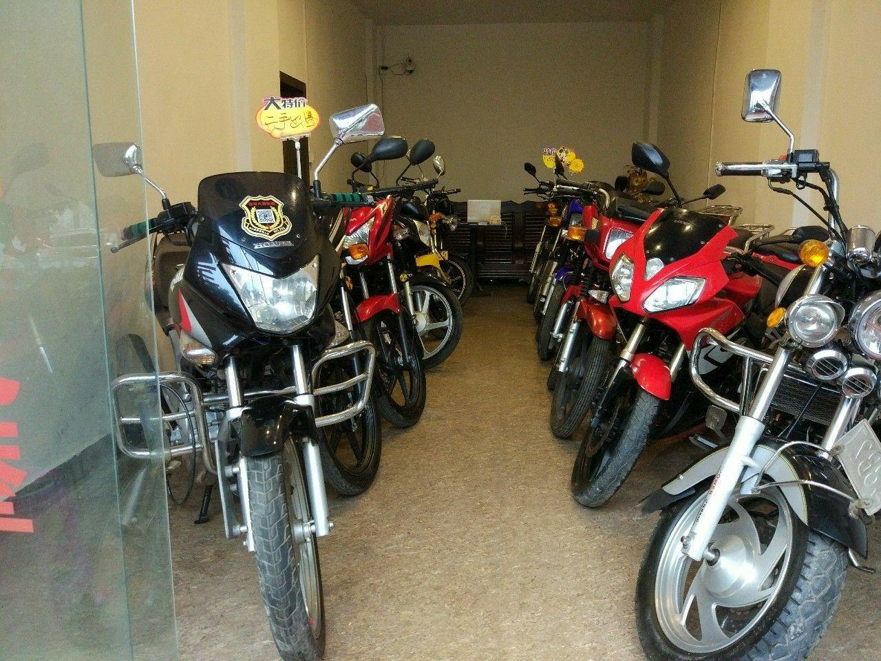 合利二手车行,出售各类摩托,踏板