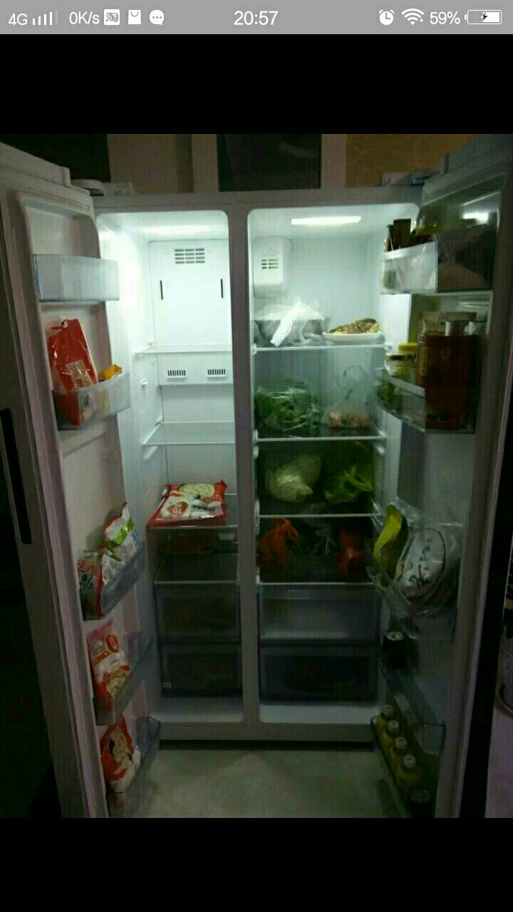 个人一年美的冰箱