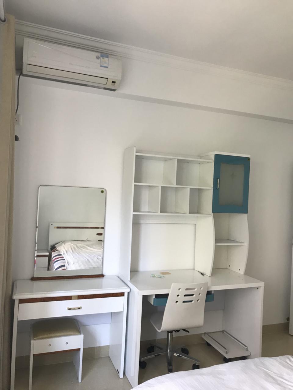 琼海市御河・观景台两房出租,全新家具、拎包入住!