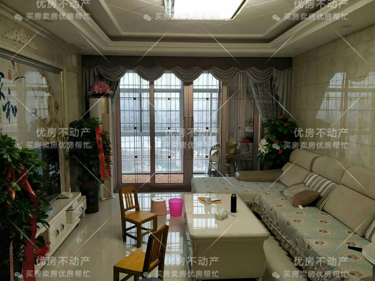 滨河花园3室2厅2卫80万元