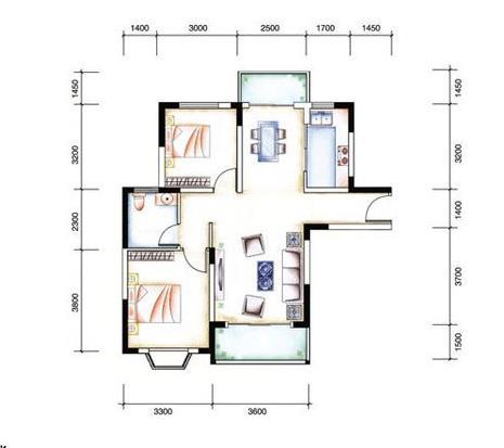 真实房源急售商业步行街2室2厅1卫93万元