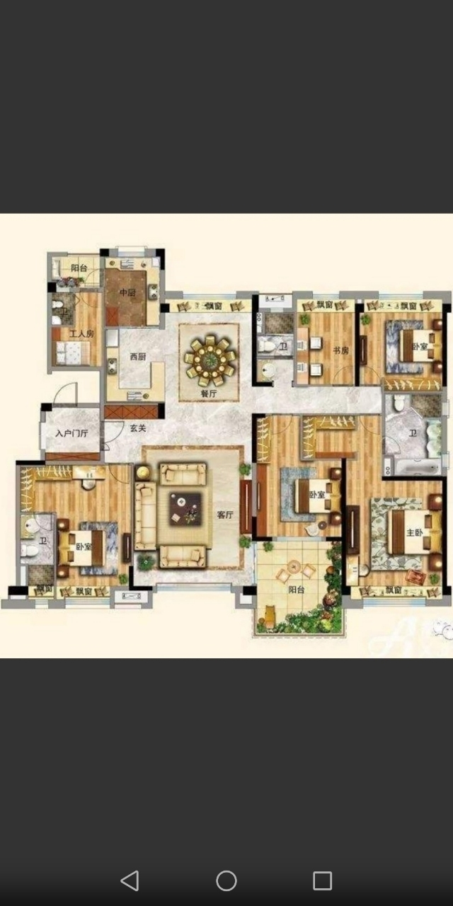 城东学区房,碧桂园玖州府2楼,精装5居,180平