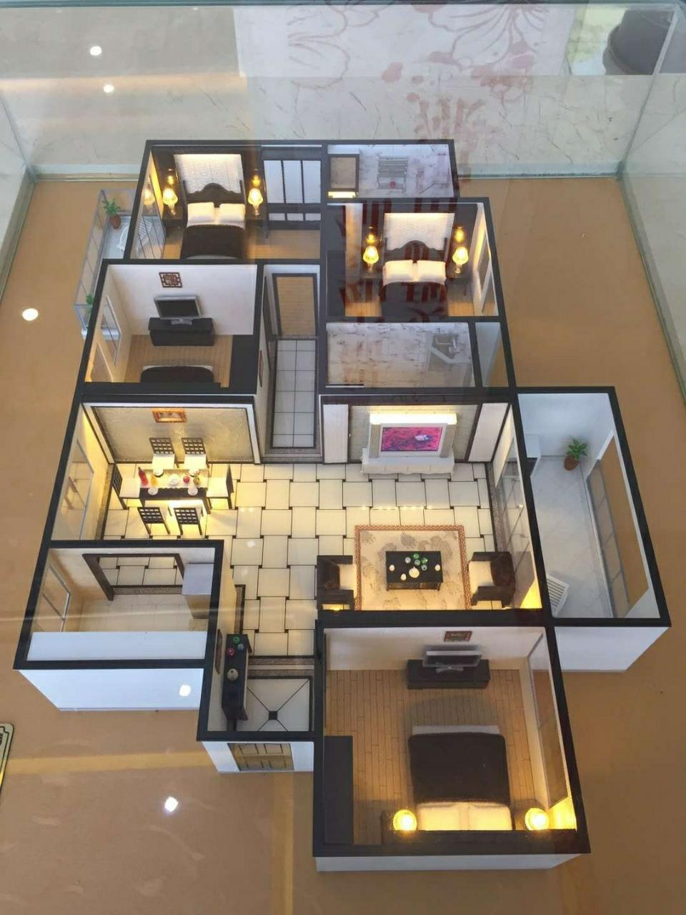 广场家园4室2厅2卫仅售8800/平