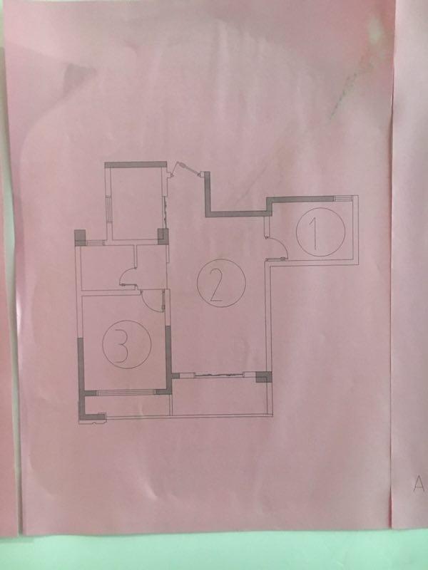 锦绣瑞府毛坯房2室2厅1卫81平米68万元