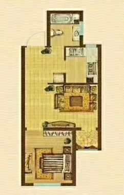 印象城·中央公园1室1厅1卫41万元