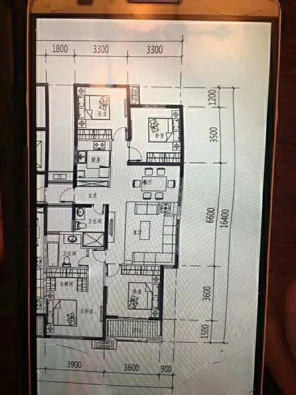 锦绣瑞府140平米毛坯4室2厅2卫119万元