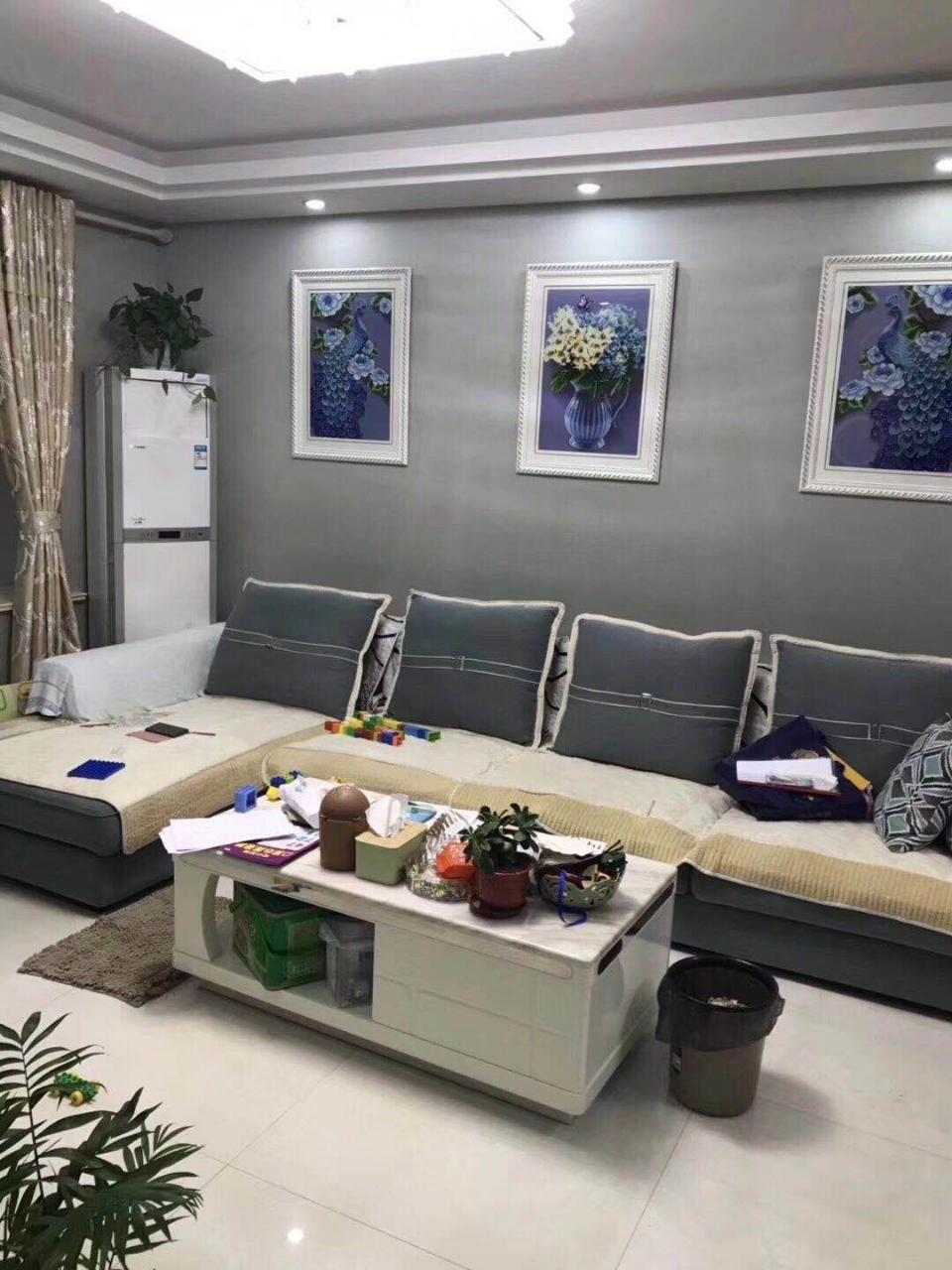 大明国际精装修2室2厅1卫91平米87万元