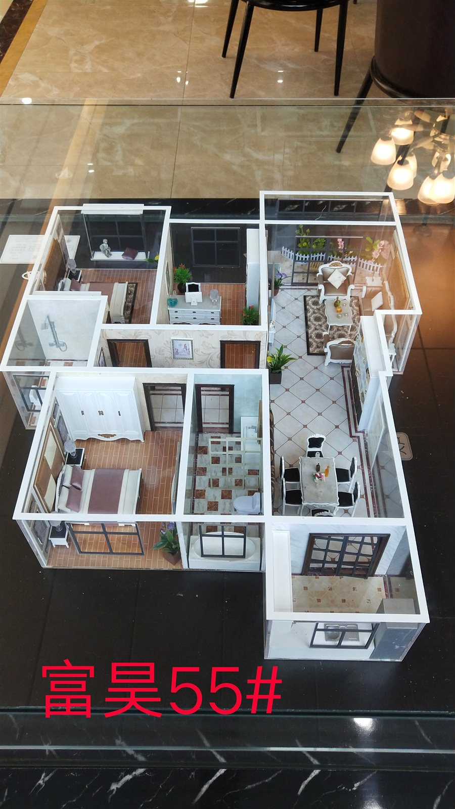 富昊金城3室 2厅 2卫47万元