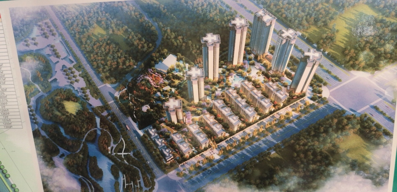 城北湿地公园,文化公园,九溪公园3室2厅2卫住宅