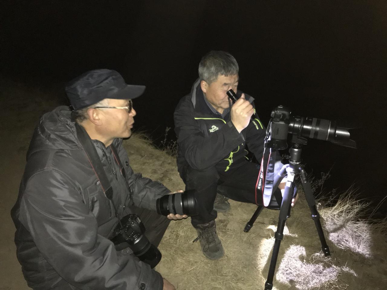中国大关山摄影俱乐部、张家川在线第八场活动大年三十拍县城烟花