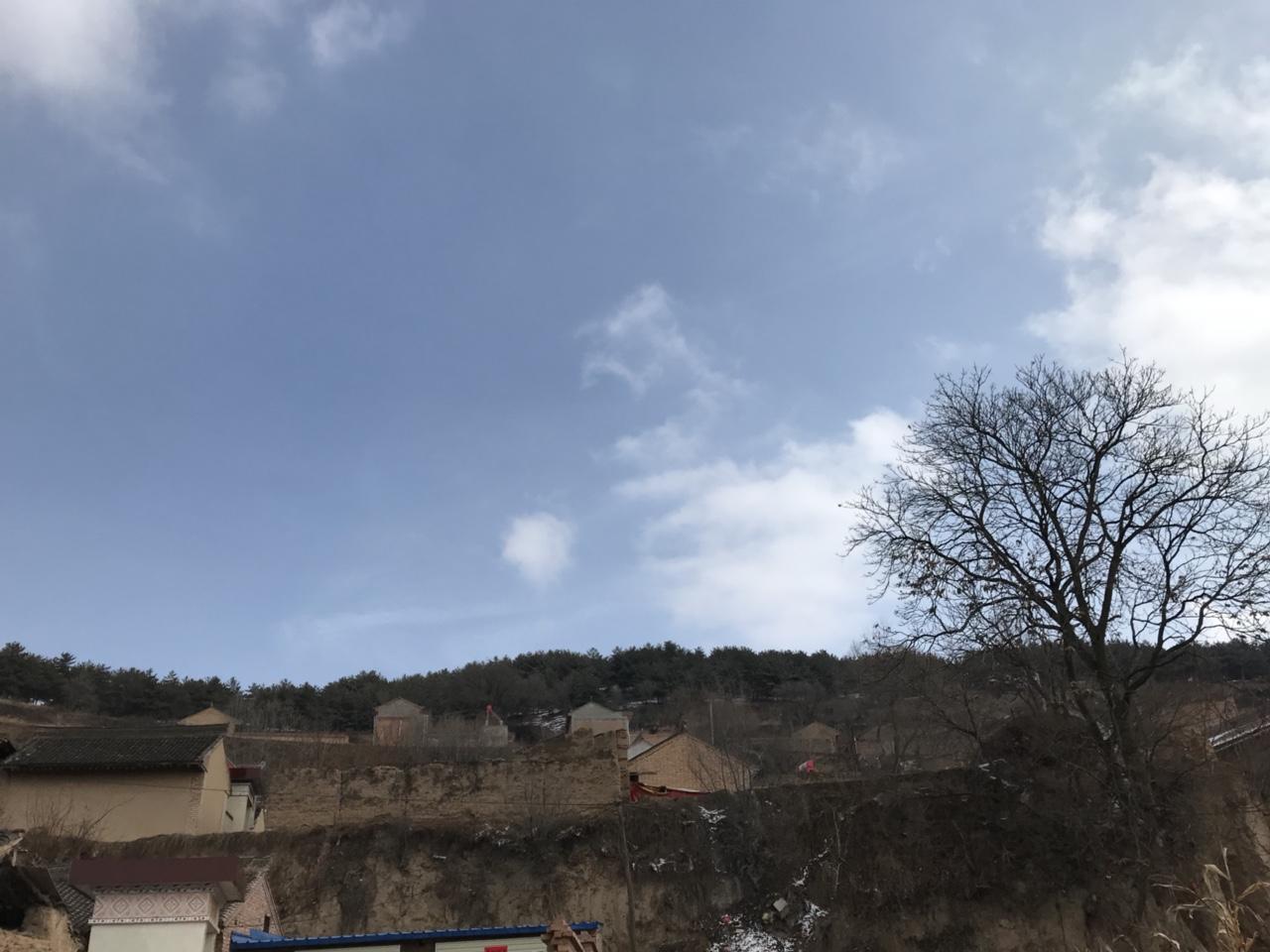 申家湾,大庙山背后的一处村庄