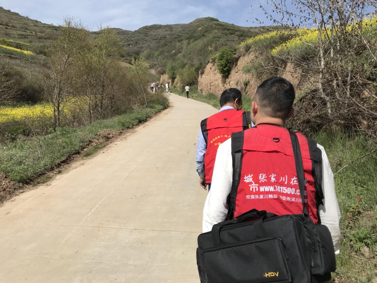张家川在线受武山县政府邀请宣传龙台油菜花海精彩花絮