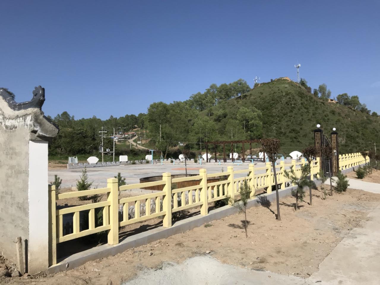 【文化惠民】马鹿镇陡崖村综合文化服务中心如关山一块碧玉