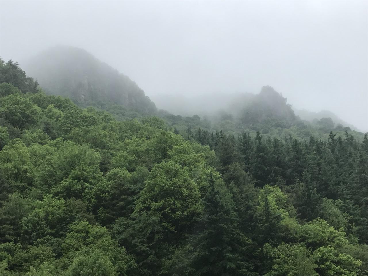 烟雨关山,千年不变的景色