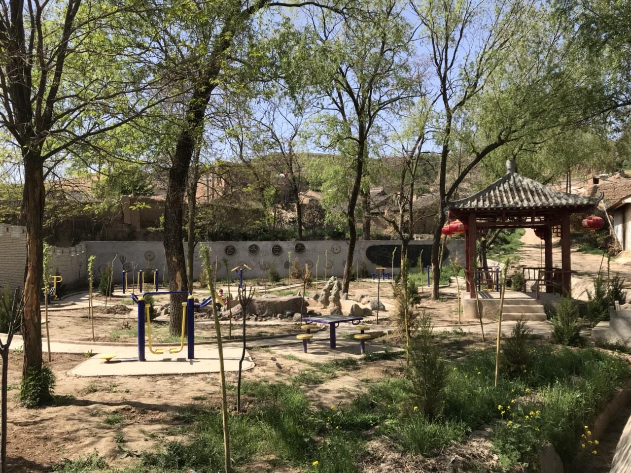 【文化惠民】大阳镇梁堡村综合文化服务中心风�