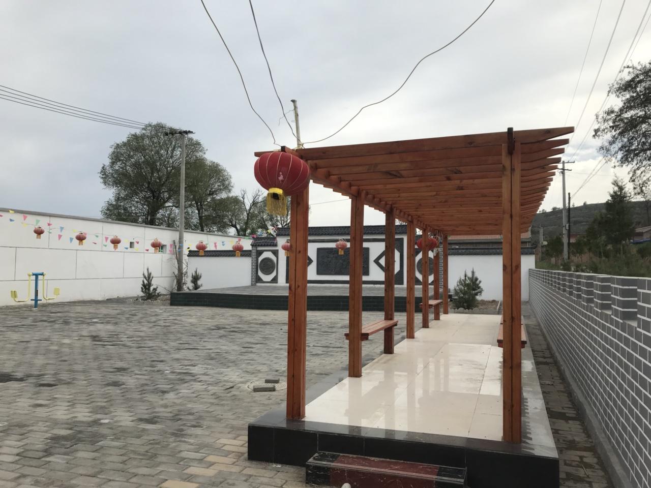 【文化惠民】连五乡四合村综合文化服务中心风�