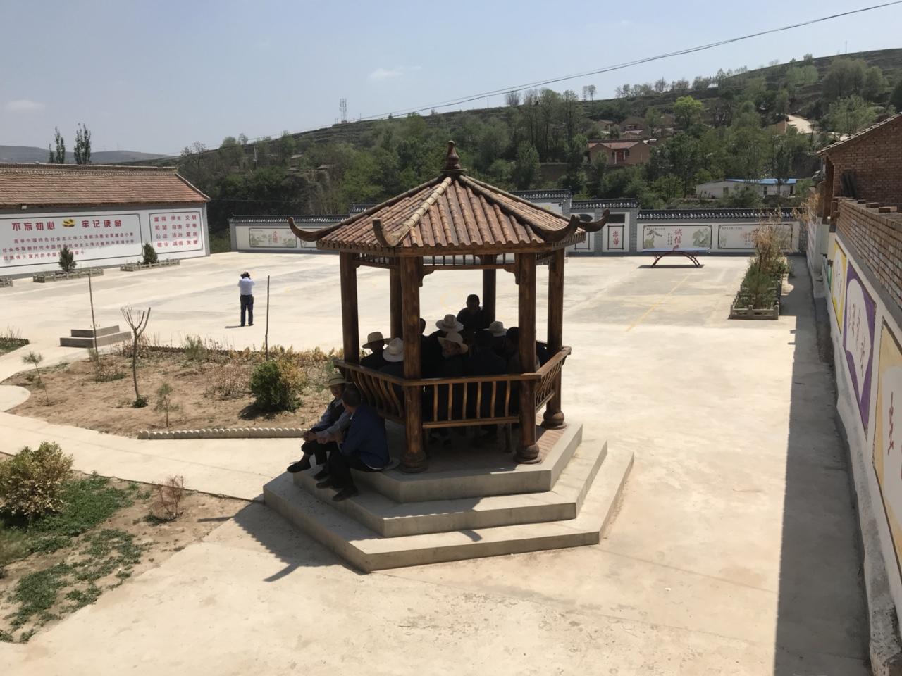 【文化惠民】马关镇韦沟村综合文化服务中心风�