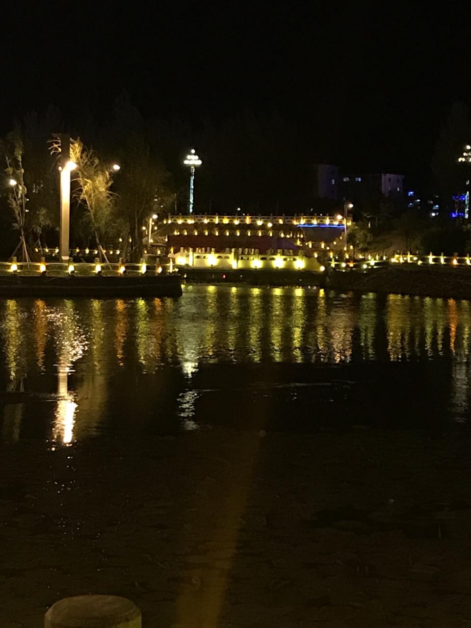 澳门轮盘赌场西湖夜景
