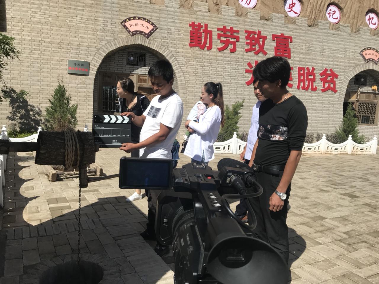 拍摄花絮:张家川方言微电影第4季《新义梁相亲记》