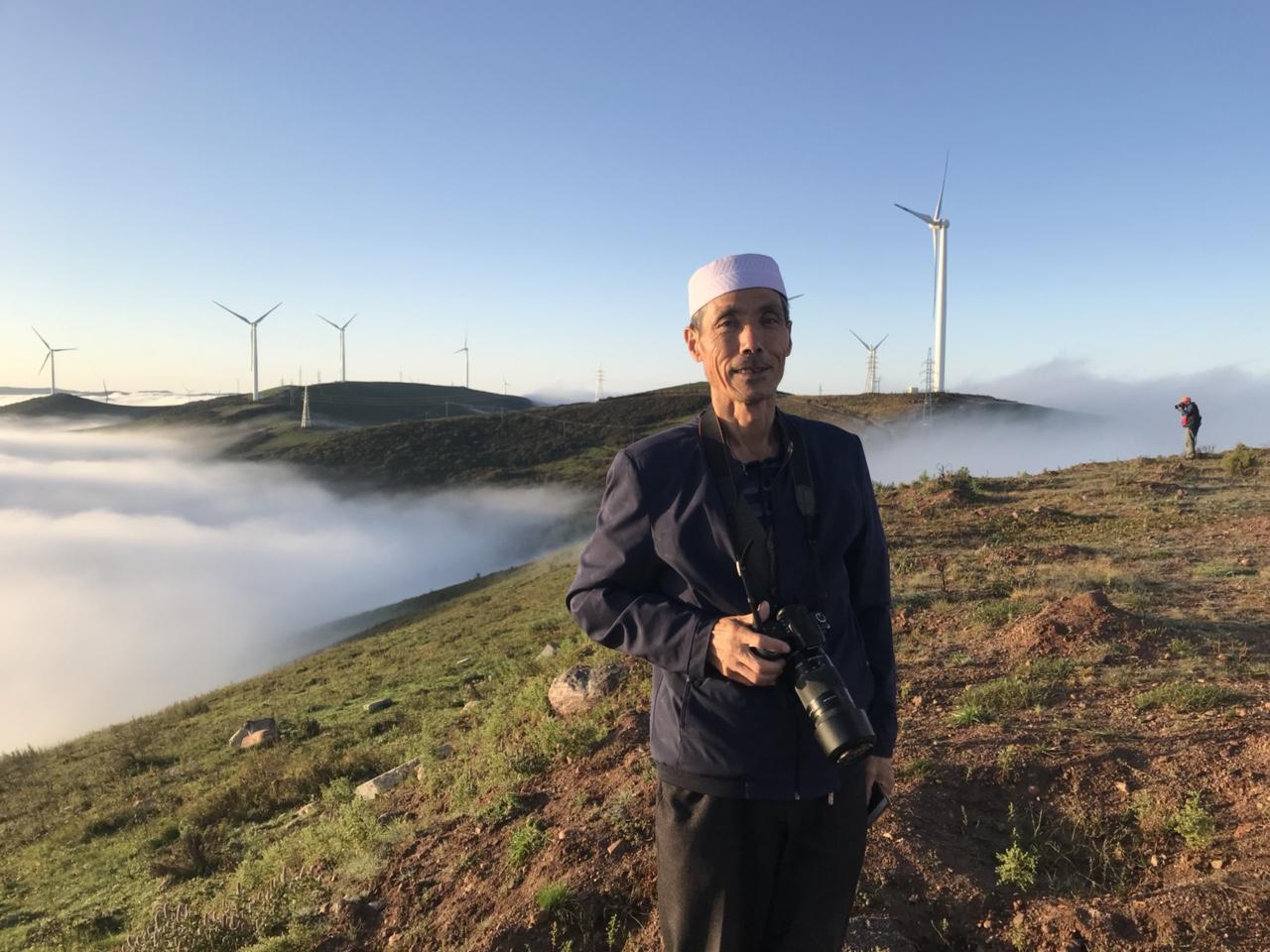 中国大关山摄影俱乐部第25次摄影�风活动走进北关山云海