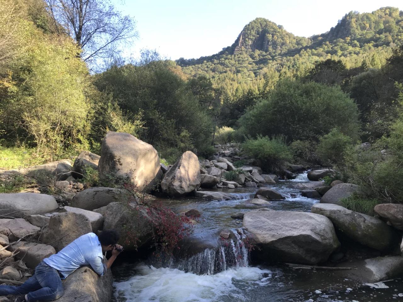 关山深山老林里藏着一处美景一般人发现不了