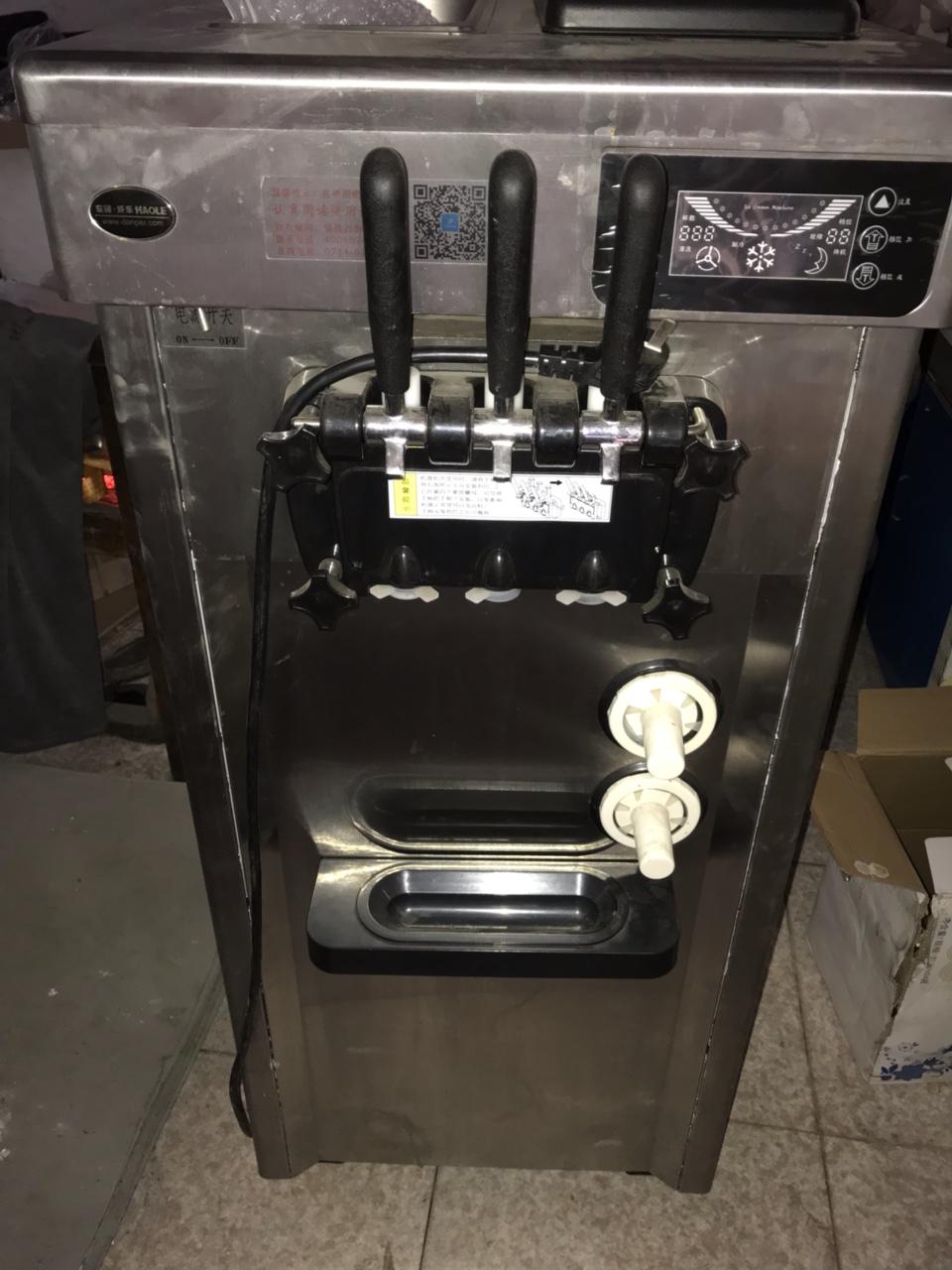 东贝冰激凌机器8成新