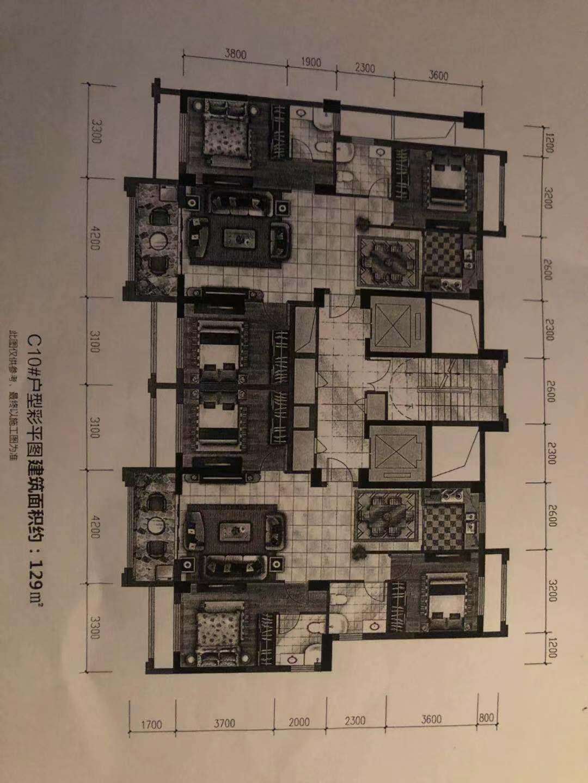 万锦新城三期3室 2厅 2卫