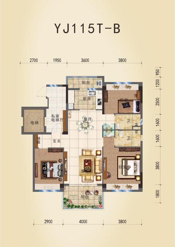 碧桂园紫金庄园3室 2厅 1卫60万元