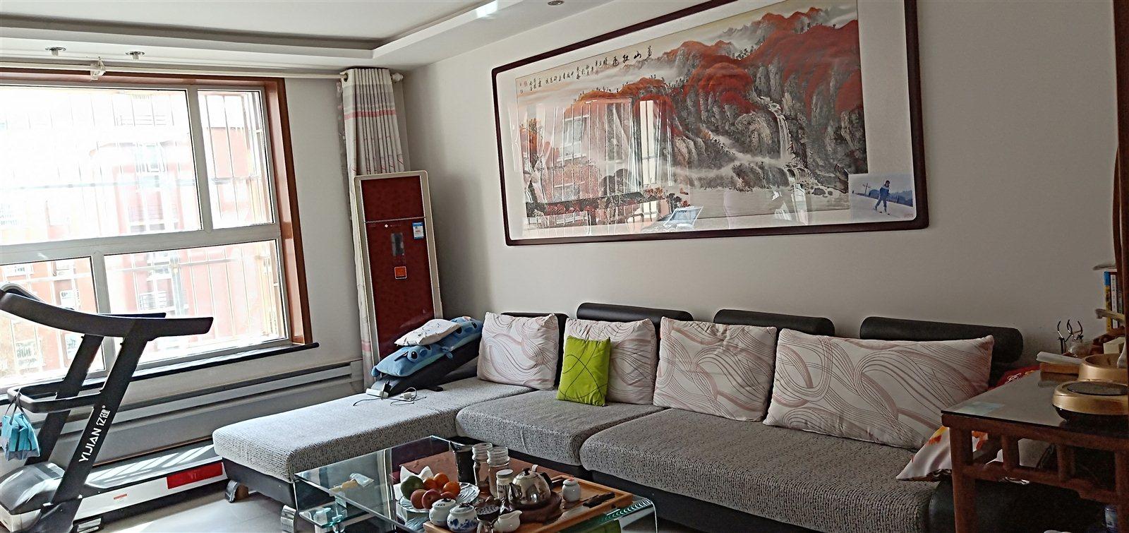阳光帝景3室 2厅 2卫单价低,6400