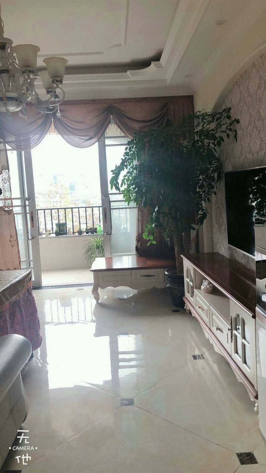 山台山花园洋房3室 2厅 2卫喊价86万元