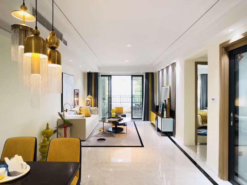 城西高端小区3室精装修带家具家电首付只需38万