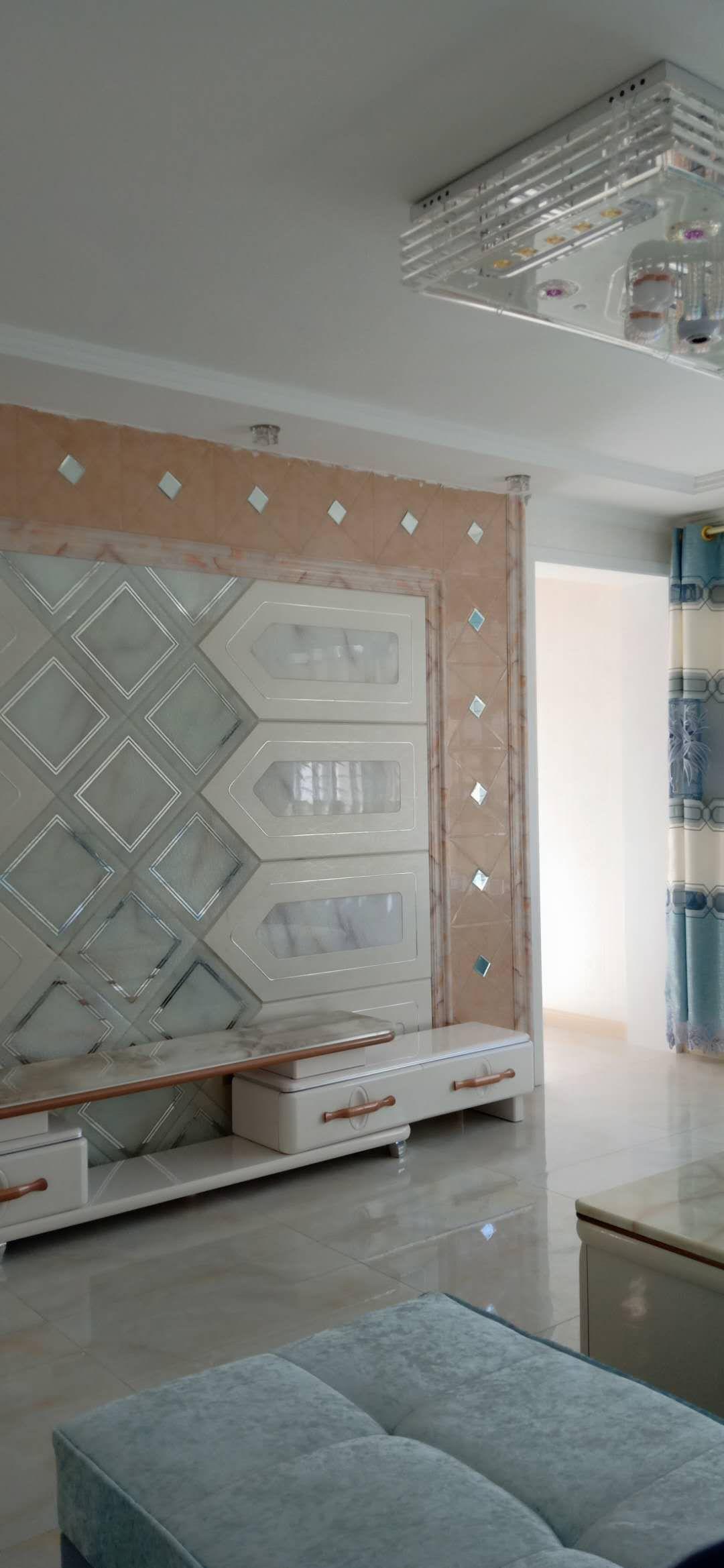 南园和谐小区120平新装修的地暖房带家具,地下室出